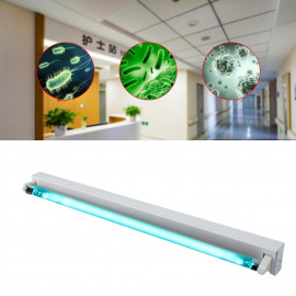 UVC bactericidal lamp, 18W Phillips tube, for sterilization, wall fixing