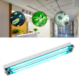 Bactericidal lamp UVC 36W, 2 tubes 18W Phillips, sterilization 36 sqm, wall mounting