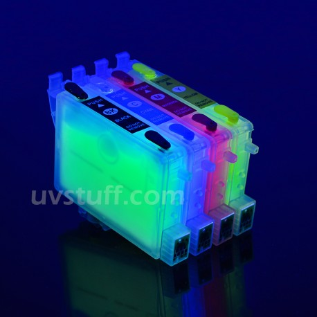 EPSON T0601-T0604 CARTRIDGES FILLED WITH INVISIBLE INK
