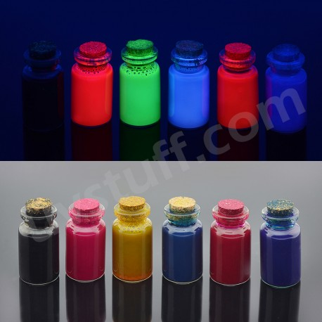 Neon ink for ink jet printers 6 color set
