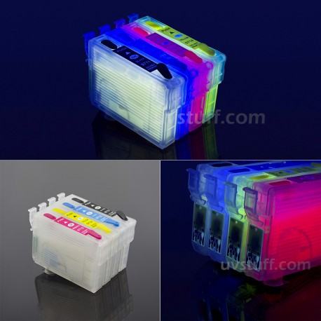 EPSON CARTRIDGES T0711-T0714 FILLED WITH INVISIBLE INK