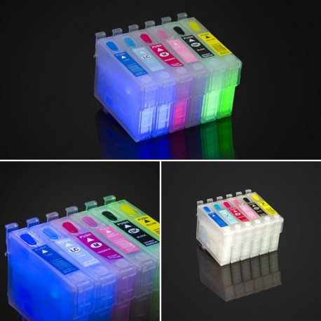 EPSON T078 CARTRIDGES FILLED WITH INVISIBLE INK