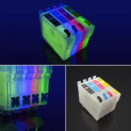 Refillable invisible ink cartridges T2701-T2704 for Epson