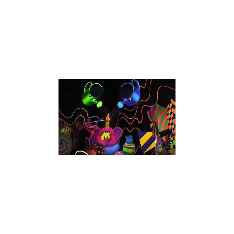 Neon-Tinte für Ink-Jet Drucker 6-Farben-set