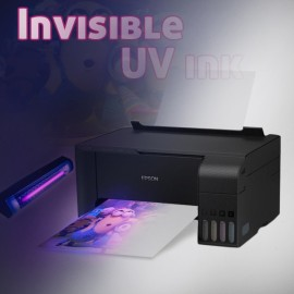 Epson L3151 printer with invisible UV Ink