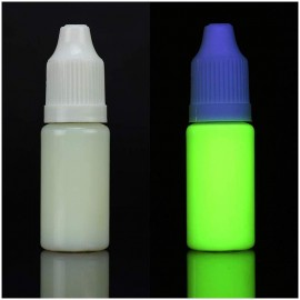 Yellow ultraviolet invisible ink for printer