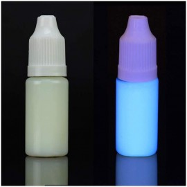Invisible uv light cyan printer ink