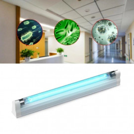 UVC 8W bactericidal lamp, Osram germicidal tube, action surface 8 sqm, disinfection and sterilization, wall fixing