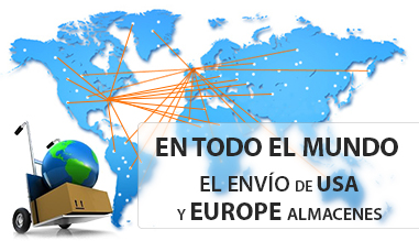 Transporte de EE.UU. y Europa almacenes