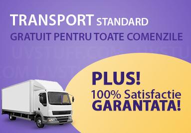 Transport standard gratuit pentru toate comenzile